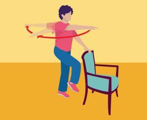تمرین درمانی سالمندان